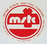 METRIC SCREW AND TOOL COMPANY