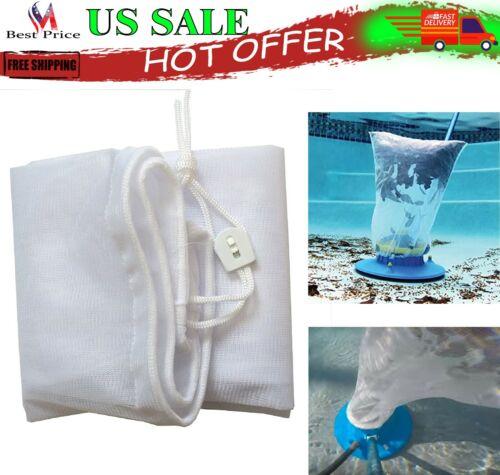 Pool Vacuum Leaf Catcher Fine Mesh Bag Replacement Sweeper Skimmer Gulper Eater