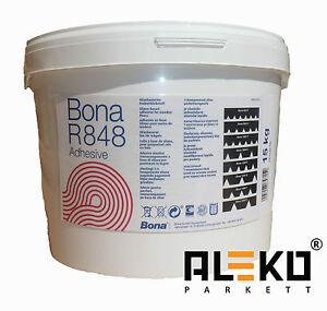 BONA R 848 Parkettkleber 15 kg Elastikkleber Parkett Klebstoff lösemittelfrei
