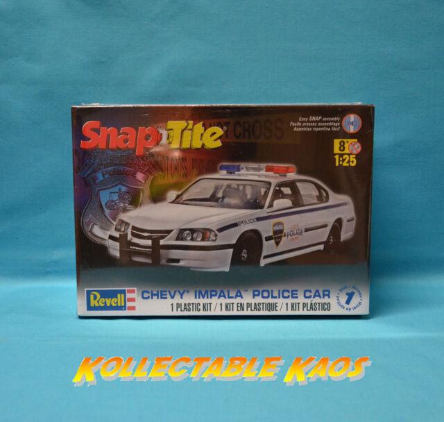 1:25 Revell - SnapTite - 2005 Chevy Impala Police Plastic Model Kit(85-1928)