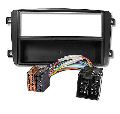Radioblende SET MERCEDES W203 W209 Viano Vito DIN Blende ISO Adapter online kaufen