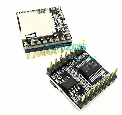 2pcs Arduino Open Source Mini Mp3 Player Mini Player Sd Card Voice Module
