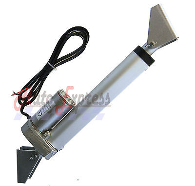 Linear Actuator 4  Heavy Duty With Brackets Stroke 225 Pound Max Lift 12 Volt Dc