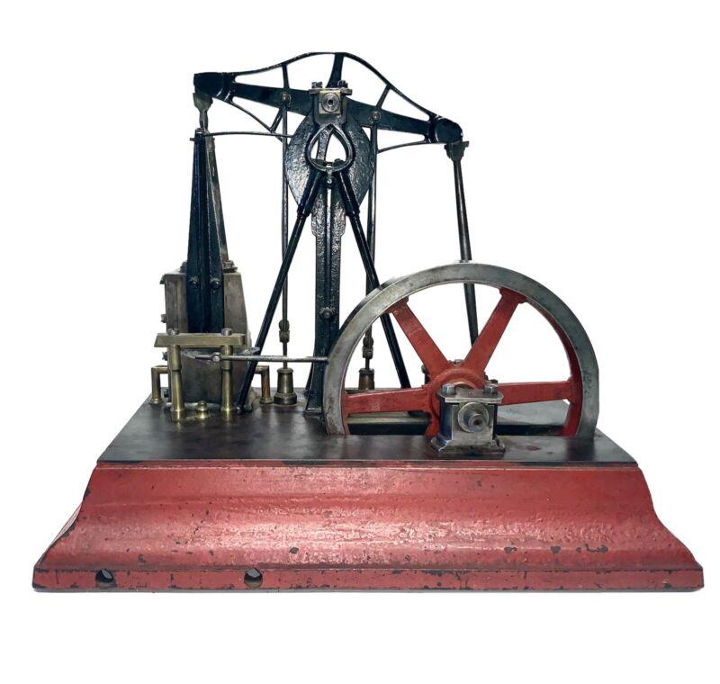A FINE CA 1880 MODEL OF A CA 1849-53 CORLISS WALKING BEAM STEAM ENGINE