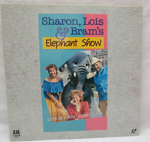 Sharon lois brams elephant show live in your living room laserdisc rare for The elephant in the living room watch online