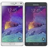 Samsung Galaxy Note 4 SM-N910A 32GB (AT&T) Unlocked White - Black - Burnt Screen