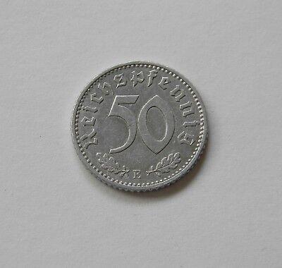 DRITTES REICH: 50 Reichspfennig 1935 E, J. 368,prägefrisch/unc.,  I.