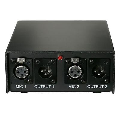 Audix APS2 Condenser Mic Dual Phantom Power Supply
