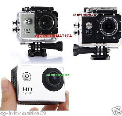 Pro Cam Sport HD 1080p Action Camera Go 12MP Videocamera Subacquea TIPO sj4000