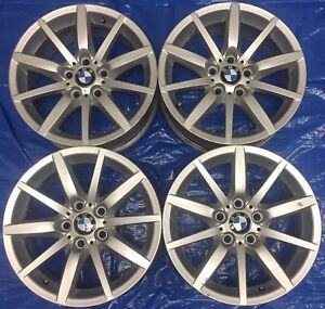 """2009 BMW 3 Series OEM 17"""" E90 Staggered Sport Wheels"""