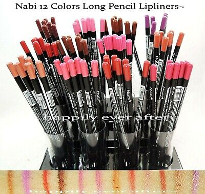 12pc Nabi Lipliner Set of 12 color #L03-L43