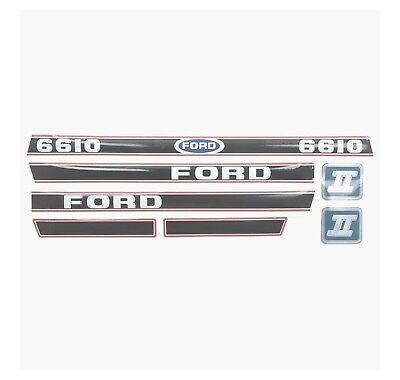 Sparex S.12108 Decal Kit Ford 6610