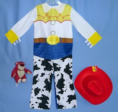 Disney Toy Story Jessie costume girls 4-6X-cowgirl hat-plush Lotso Huggin Bear - Girls Jessie Costume