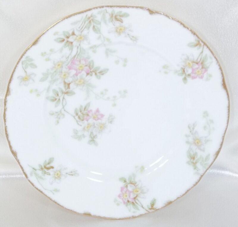 Salad Luncheon Dessert Plate Elite Works Limoges France Bawo & Dotter White