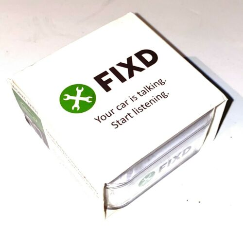 FIXD OBD-II 2nd Generation Active Car Health Monitor Brand New FREE SHIPPING!