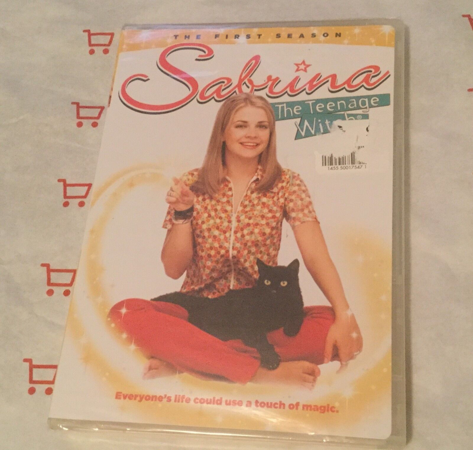 Sabrina the Teenage Witch - The Complete First Season (DVD, 4-Disc Set) NEW