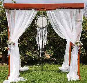 Custom built rustic wedding arbour  (HIRE) Noarlunga Centre Morphett Vale Area Preview