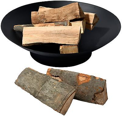 Feuerschale Feuerstelle Feuerkorb 60 cm Garten Feuer Schale Metall schwarz
