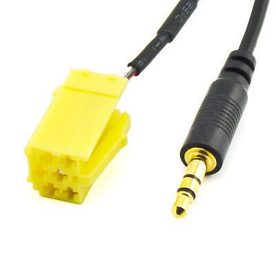 AUX IN Adapter Kabel für SMART 451 Fiat Grande Punto ALFA 159 LANCIA Musa MP3