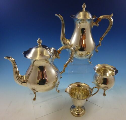 Jack Shepard By Fisher Sterling Silver Tea Set 4pc #2367 (#2414)