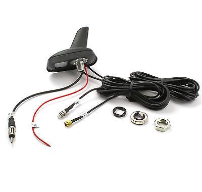KFZ Antenne Dachantenne SHARK Universal FM Radio GPS Navi GSM Telefon