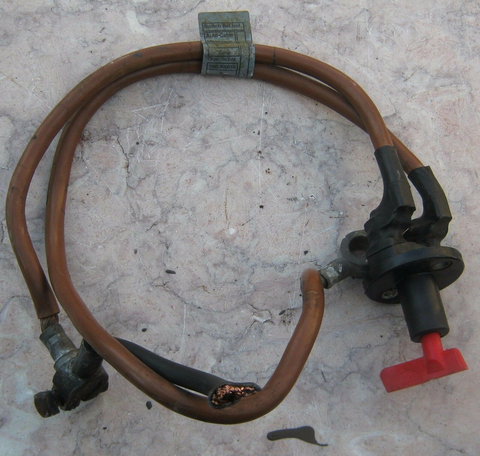 Used Land Rover Battery Cables And Connectors For Sale 1995 Range County Classic Master Kill Switch With Cable