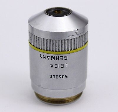 Leica Pl Fluotar 10x 0.30 0.17 Dic A Infinity Microscope Objective