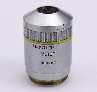 Leica Pl Fluotar 10x 0.30 0.17 Dic A Infinity Microscope Objective