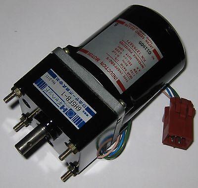 Japan Servo Induction 50 Hz Motor W Capacitor - 115 V - 18 Watts - 283 Rpm 15