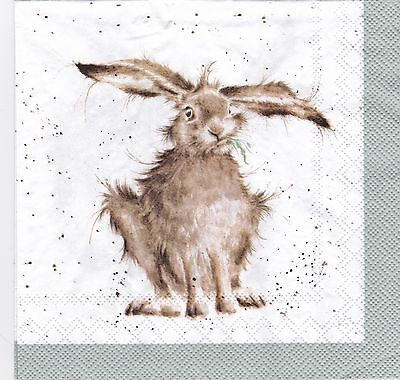 Wrendale Country Set Paper Napkins Hares