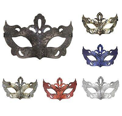 Unique Glitter Plastic Masquerade Mask Prom Dance Venetian Halloween Costume