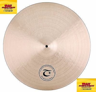 Jazz Vintage Cymbals (Turkish Cymbals Jazz Series 24-inch Vintage Soul Ride Sizzle  VS-RSZ24 )