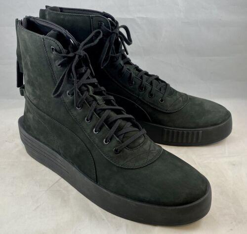 PUMA x XO Parallel Size 13 Black Boots Shoes Men's