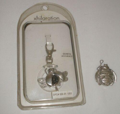 Rare Vintage Quartz Ladybug Watch Combo Key Chain & Pendant Circa 1999 NIB 2 Pcs