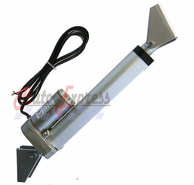 Linear Actuator With Brackets 2 Stroke 225 Pound Max Lift 12 Volt Dc Heavy Duty