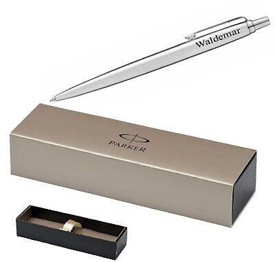 Parker Kugelschreiber Jotter mit Gravur nach Wunsch in Geschenkbox Parker Pen
