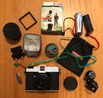 Lomography Diana F+ Camera w/ Accessories - Great Condition