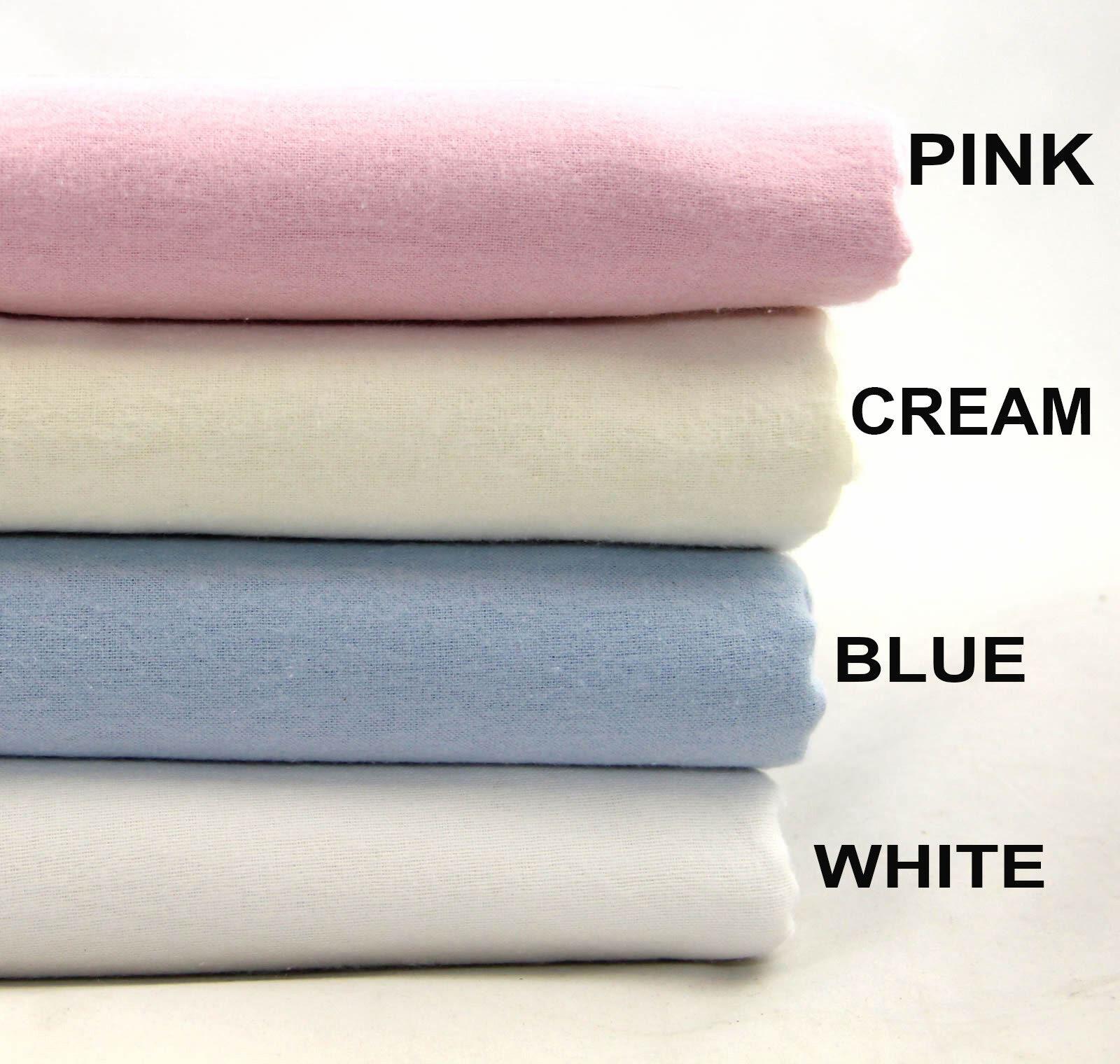 King Double Soft Fleece Flannelette Sheet Set 100/% Cotton Bedding Single