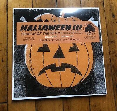 Halloween III Season Of The Witch - Skull Mask Vinyl - Mondo - Horror Soundtrack