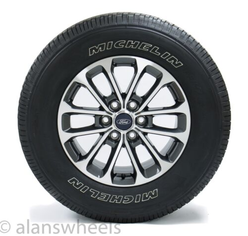 """4 NEW Takeoff Ford F150 FX4 18"""" Factory OEM Wheels Rims 275 65 18 Michelin Tires"""