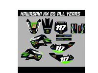 2000-2018 KX 65 GRAPHICS KIT KAWASAKI KX65 NIGHTRIDER DIRT BIKE MX DECALS