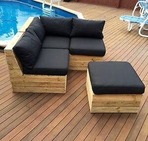 Outdoor 3-4 Seater Treated Pine Furniture Macquarie Hills Lake Macquarie Area Preview