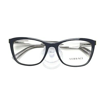 VERSACE Eyeglasses frame 3255 5230 Blue 54-17-140 without case