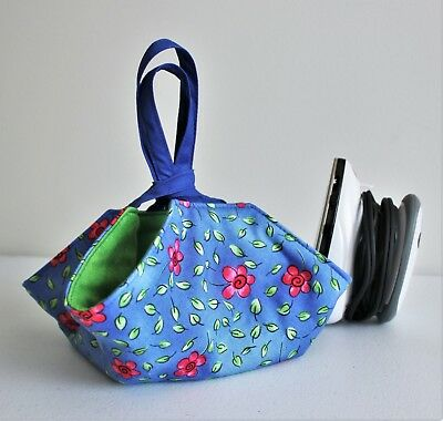 Pattern for padded travel mini iron caddy; easy, user-friendly sewing pattern