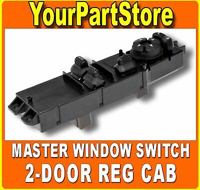 03-09 DODGE RAM 1500 Pickup TRUCK 2DR DRIVER SIDE LEFT FRONT POWER WINDOW SWITCH