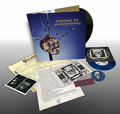 PSYCHIC TV FORCE THE HAND OF CHANCE DELUXE LTD 320 /THROBBING GRISTLE/COIL