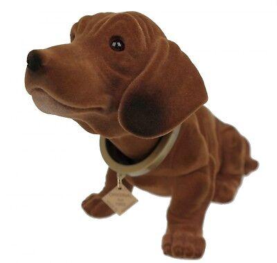 Original Wackeldackel Figur 19 cm  Wackelkopfhund Dackel Hund TOP