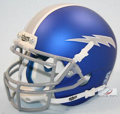 AIR FORCE FALCONS (Satin Blue) Schutt XP Mini Helmet - Air Force Falcons Mini