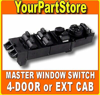 02-09 DODGE RAM 1500 4DR Pickup TRUCK DRIVER SIDE LEFT FRONT POWER WINDOW SWITCH