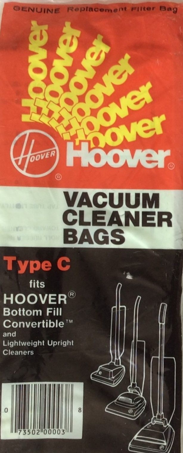 Hoover Type C Bottom Fill Upright Vacuum Cleaner Replacement